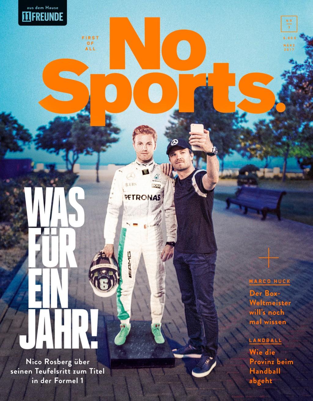 Malte Frank | Postproduction NO SPORTS MAGAZINE / NICO ROSBERG