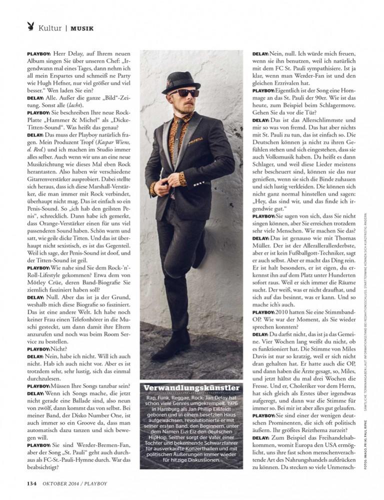 Malte Frank | Postproduction JAN DELAY / PLAYBOY
